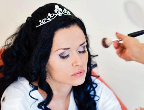 Maria's Winter Wonderland Wedding Makeup