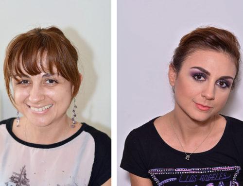 Tanya's Makeup Lesson
